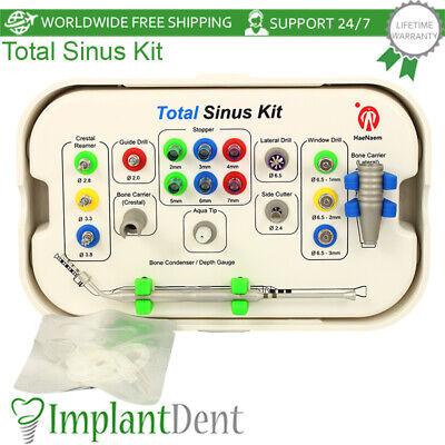 Surgical Total Sinus Lifting Kit Crestal Lateral Membrane Lift Dental Implant