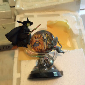 "SWIRLING TOWARD OZ BRADFORD EXCHANGE COLLECTIBLE ""Fly! Fly! Fly!"