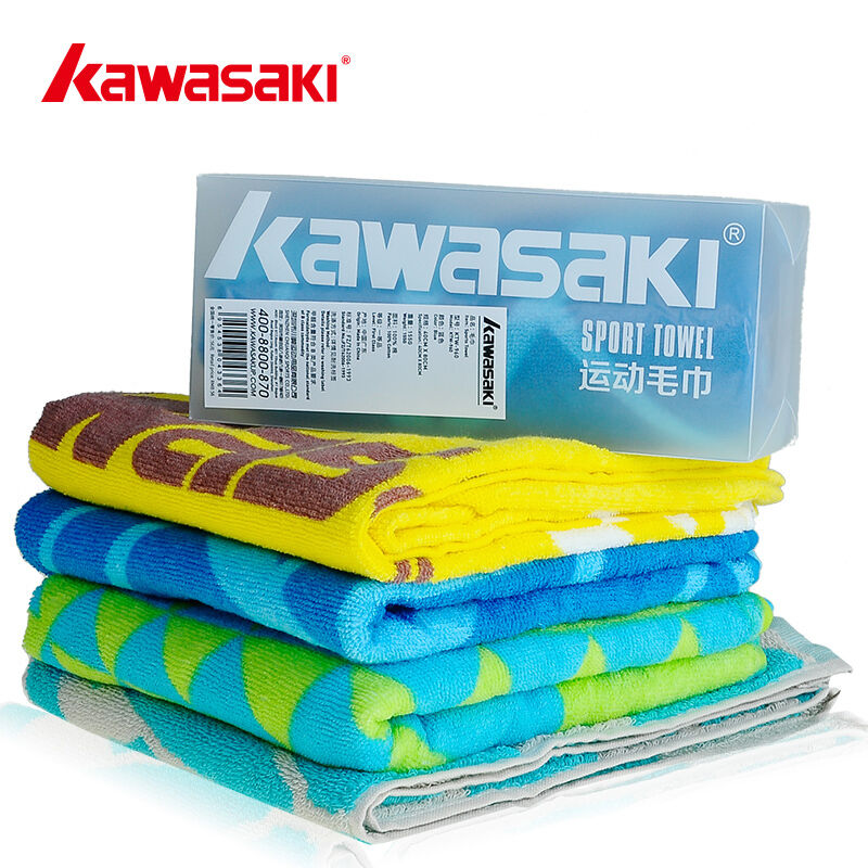 Kawasaki Sports Towel Fitness Sweat Speed Dry Badminton washcloth