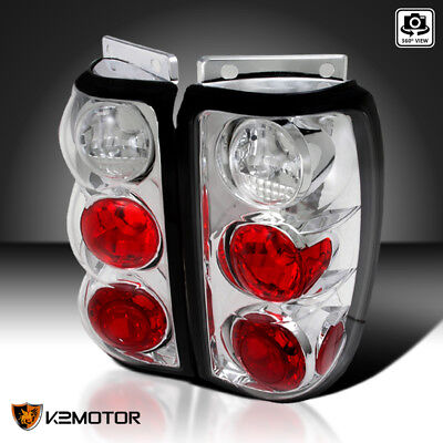Fit 1995-1997 Ford Explorer Clear Tail Lights Brake Lamps Replacement Left+Right 1995 95 Ford Explorer Tail