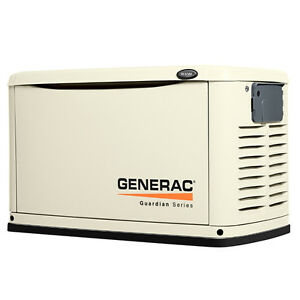 Generac 8 KW air cooled standby generator
