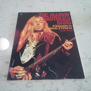 The Allman Brothers Band, Biography in Words & Pictures Kitchener / Waterloo Kitchener Area image 1