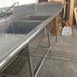 Stainless steel industrial sink Peterborough Peterborough Area image 3