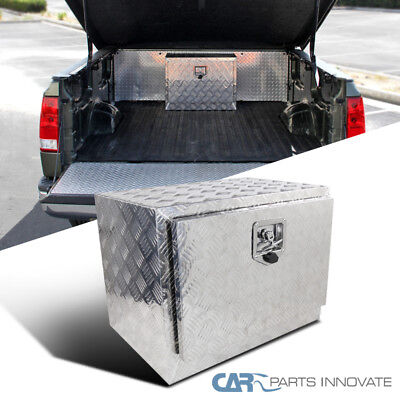 "24""x 17"" Truck Bed Pickup Underbody Aluminum Tool Box Trailer Storage w/ Lock"