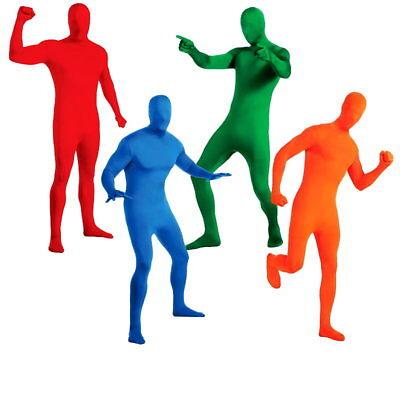 2nd Skin Ganzkörperanzug Second Skin Kostüm für Erwachsene