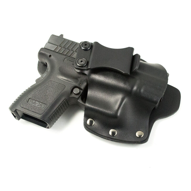 WALTHER - IWB Hybrid Concealed Carry Holster - Kydex Leather - Single Clip