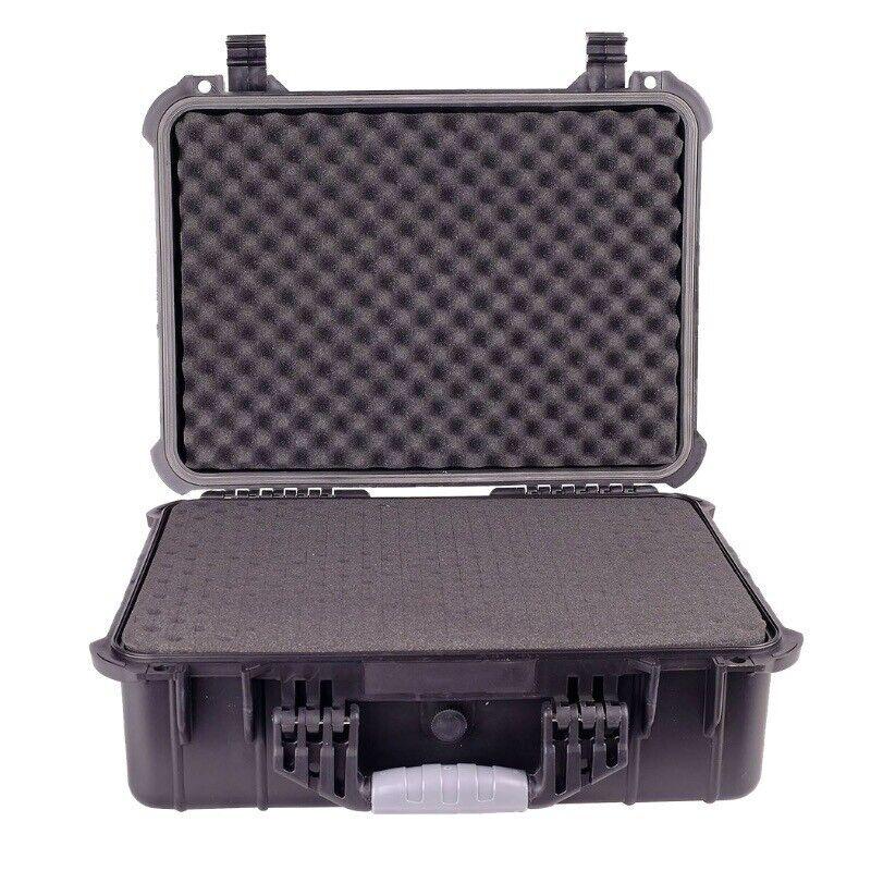 "16"" Weatherproof Hard Case for DSLR Camera Lens Gun w/ Pelic"