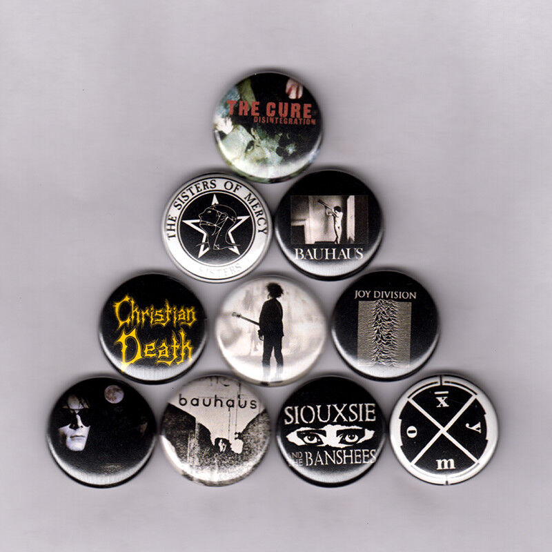 "Siouxsie And The Banshees 1"" Button S015B Bjork Sugarcubes Joy Division"