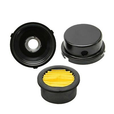 Air Filter Compressor Intake Filtration Noise Muffler Silencer Fit 34 Thread