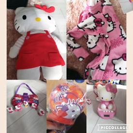 Hello kitty 6 piece bundle
