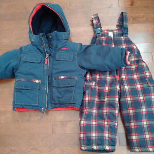 Osh Kosh Carters 2 piece snow suit (like new!) 18m - 3T