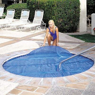 7'x7 Spa & Hot Tub Thermal Solar Blanket Cover- 15 Mil