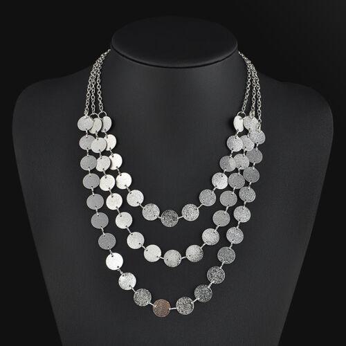Choker Charm Fashion Jewelry Chain Pendant Chunky Statement Bib Necklace