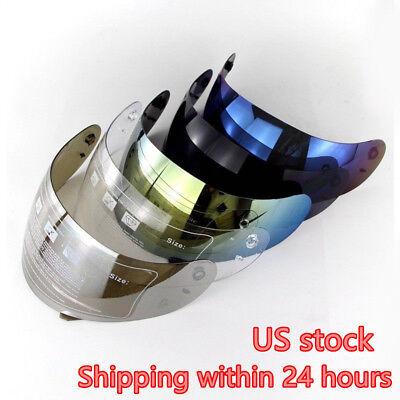 Agv Visor - Motorcycle Helmet Visor Full Face for AGV K3/K4 Motocross Helmets Lens Shield