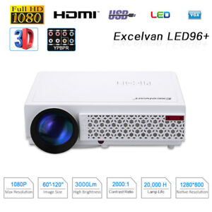 Excelvan LED 96+ 720P Projector