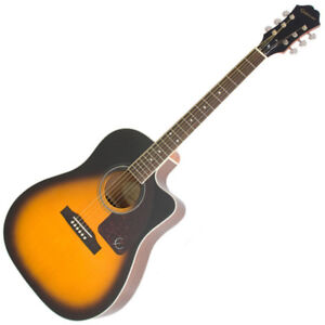 """Epiphone Electric/Acoustic with Hard Shell Case """"Like New"""""""