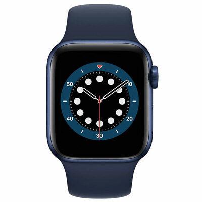 Apple Watch Series 6 40MM GPS Aluminum Case w/ Navy Sport Band MG143LL/A