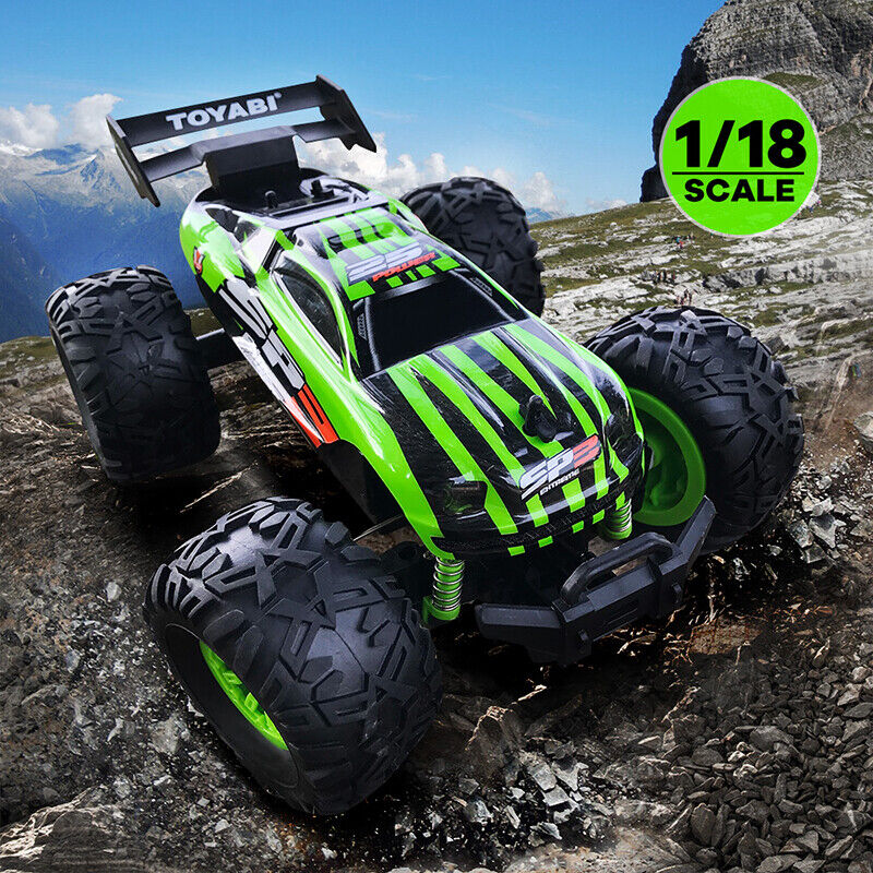 1:18 RC Monster Truck Remote Control RC RACING Car Off Road