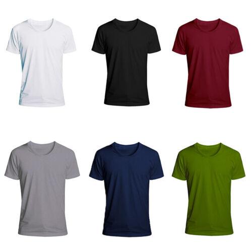 Mens T Shirts For Men Short Sleeve Shirt Casual S Sports 5XL
