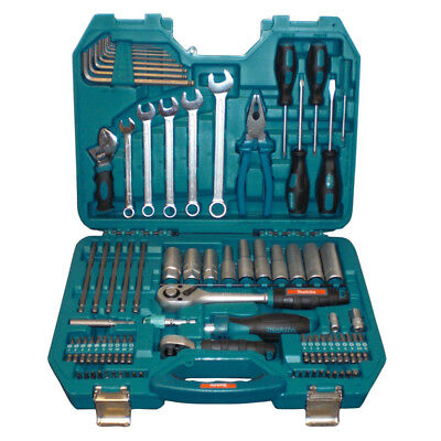 Makita P-90093 Outdoor Power Service Kit 83 Piece Repair Mixed Tools Set Case