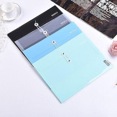12x Plastic Style Document Bag File Folder Expanding Wallet Bill Folder Wholesal