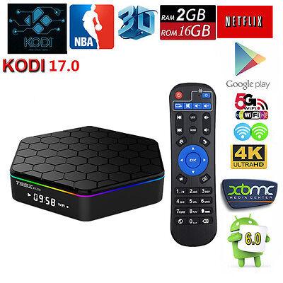 2G 16G T95Z Plus Android 6.0 TV Box Amlogic S912 8-Core 3D 1000M LAN KD 16.1