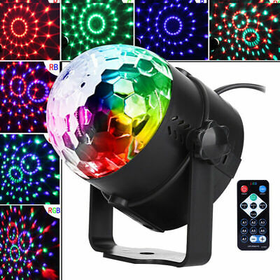 LED Dj Ball Sound Activated Disco Party Lights Strobe Bulb Dance Lamp -