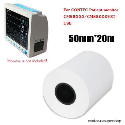 50mm20meterrecording Paper Thermal Printer Paper For Patient Monitor Cms8000