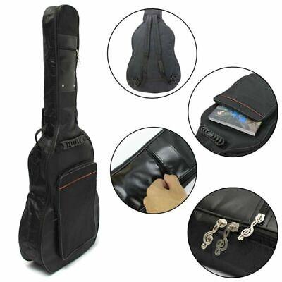 Double Straps Acoustic Guitar Bag 41'' Guitar Soft Cases Gig Bag Backpack