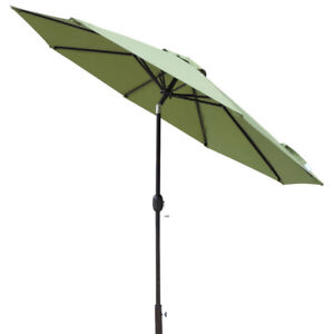 Island Umbrella Trinidad Full-Sized 9 ft. Octagonal Market Patio