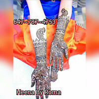 Henna Artist For Your Speical Event-Brampton-GTA/Mississauga