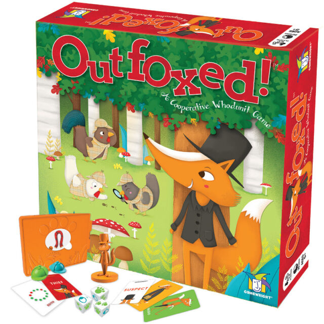 Image result for outfoxed board game uk