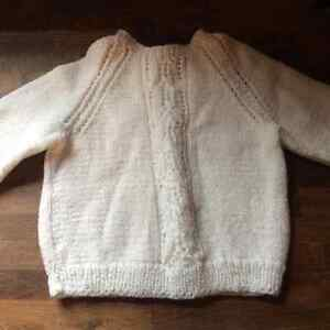 Hand Knit / Hand made Baby Sweaters Cambridge Kitchener Area image 2