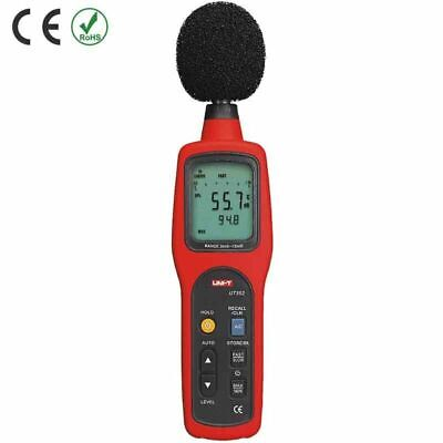 Uni-t Ut352 Digital Sound Level Meter Db Decibel Meter Noise Monitor Tester Kd