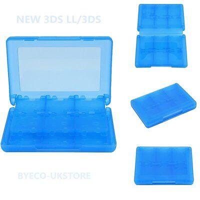 Ultimate Set 26in1 Blau Tasche Spiele-Hüllen Hard-Case etc für Nintendo 3DS BYUK