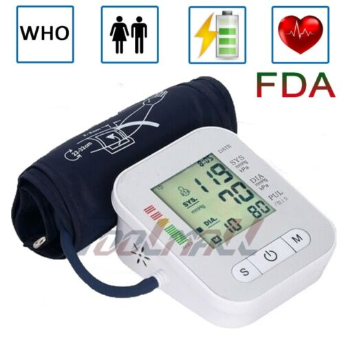automatic upper arm blood pressure monitor digital