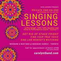 Singing Lessons - Sing Like Nobody's Watching