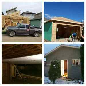 SHC! garage construction , basement reno, framing, drywall, .... Edmonton Edmonton Area image 5