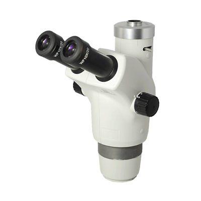 6-50x Trinocular Zoom Stereo Microscope Head Field Of View 23mm Working Distanc
