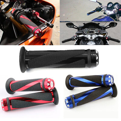 Motorcycle 7 8  Hand Grips Handle Bar Gel For Yamaha R1 R6 Honda Cbr600rr 1000Rr