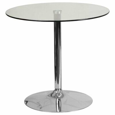 """Flash Furniture Tables 31.5"""" Round Glass Table with 29"""""""