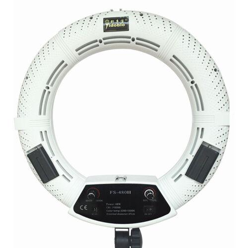 Led Ring Light Studio: Yidoblo FS-480II 5500k Continue LED Ring Light Kit Photo