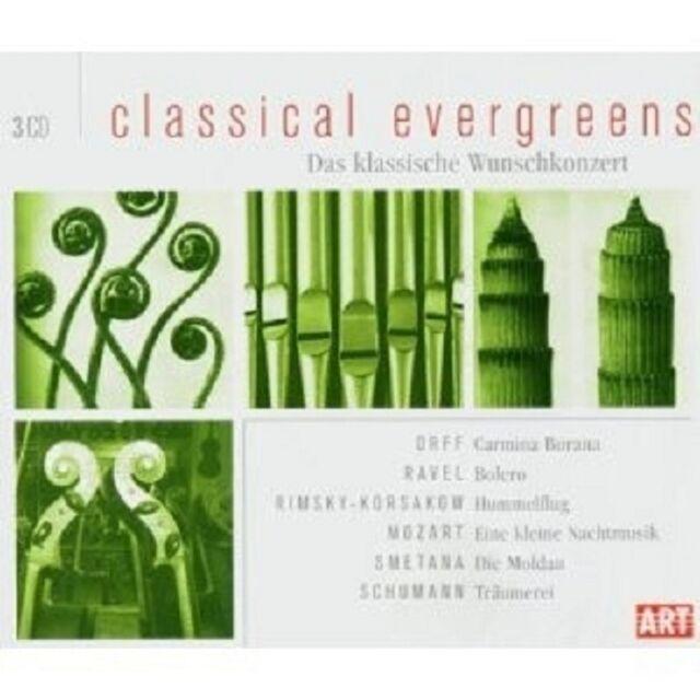 CLASSICAL EVERGREENS 3 CD NEU
