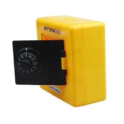 Combination Lock Money Box Code Safe Coins Cash Saving Piggy Bank Child Toy Gift