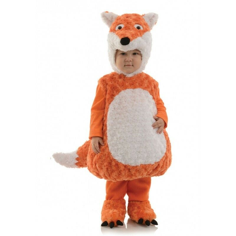 Underwraps Belly Babies Fox Plush Fur Infant Toddler Halloween Costume 26307