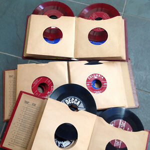 Vintage 45's Records From the 1950's