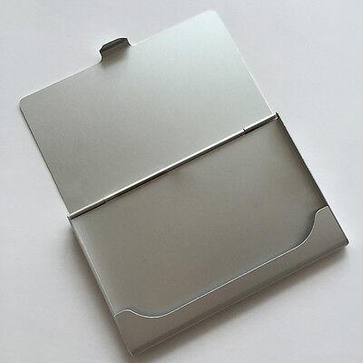 Business Name Credit Id Card Holder Box Metal Aluminum Pocket Box Case