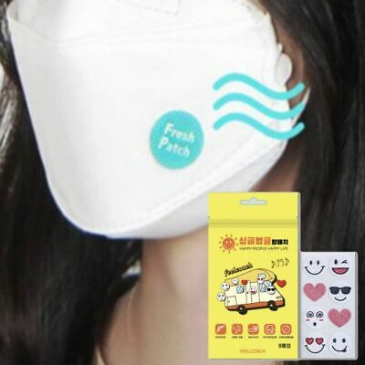 Aroma Patch Disposable Stickers 5Pack (40ea) Refreshing Mouth Korea Made