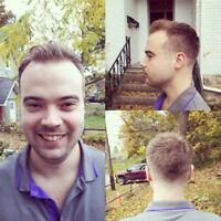 Free haircut to help you get a job.