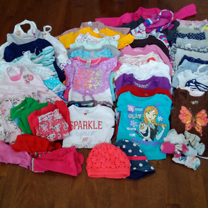 Huge lot of girls 3T clothing (55+ items)